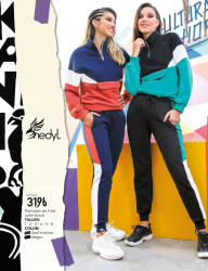 Art. 3196 Pantalón de frisa color block